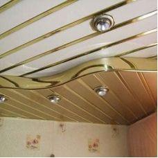 Комплект реечного потолка Албес «Немецкий, Итальянский дизайн», Омега, S-дизайн, Кубообразные