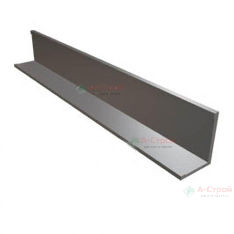 Угол пристенный стальной 19*24*3000 мм (белый)