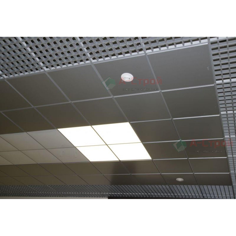 Встраиваемый светильник ROA 418 с опаловым рассеивателем в Т-профиль